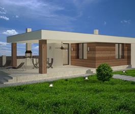 Проект бани «Аризона». Проектная мастерская АПМ-сайт. Новосибирск. Архитектор Бернов А.А.