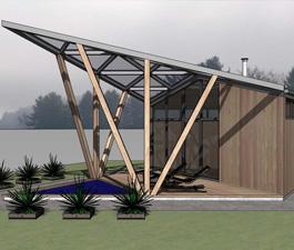 Проект банного комплекса «Цикада»