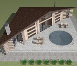 Проект банного комплекса «Жар-птица»