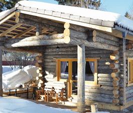 Баня в деревне Фирсановка Московской области. Артель «Данила, Макар и братья»