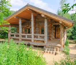 Баня в деревне Юркино Тверской области. Артель «Данила, Макар и братья»