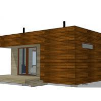 Проект сауны EES. 48 м². Разработан: АФ-студия