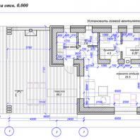 Проект бани «Аризона». Проектная мастерская АПМ-сайт. Новосибирск. Архитектор Бернов А.А., Хохлачева С.Г.