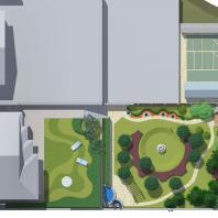 Проект благоустройства загородной усадьбы с банным комплексом. Архитектор: Сергей Косинов