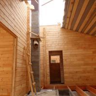 Строительство бани «Красный Яр». Новосибирск. Архитектор Сергей Косинов