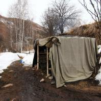 Сакская баня в Кескеленском ущелье, Алматы, Казахстан. Фото: Сергей Винский