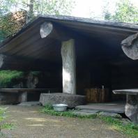 Традиционная финская дымная сауна (savusauna) в Saarijärvi. Фото: Piltti