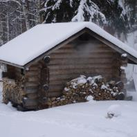 Традиционная финская дымная сауна (savusauna). Фото: johanleijon