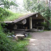 Традиционная финская дымная сауна (savusauna)