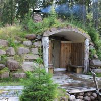 Сауна-землянка. Финляндия. Фото: Saunaflow