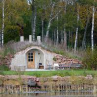 Сауна-землянка. Финляндия. Фото: evisdotter